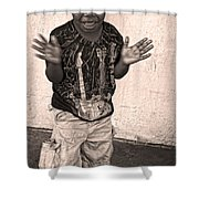 Dancing' On Decatur For Dollars Shower Curtain