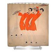 Dancing Song Shower Curtain