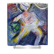 Dancing Spirit Of Earth Shower Curtain