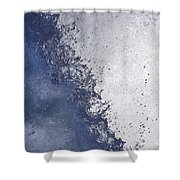 Dancing Water Drops Shower Curtain
