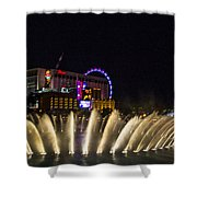 Dancing Waters 4 Shower Curtain