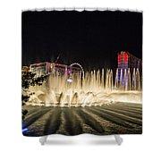 Dancing Waters 6 Shower Curtain