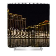 Dancing Waters 9 Shower Curtain