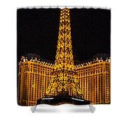 Dancing Waters In Paris Shower Curtain