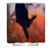 Dancing With The Stars Shower Curtain