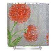 Dandelion Garden  Shower Curtain