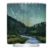 Dandelion Moon Shower Curtain