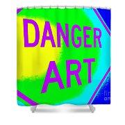 Danger Art Shower Curtain