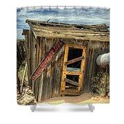 Danger Keep Out  Shower Curtain