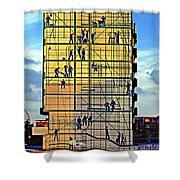 Danish Mural Shower Curtain
