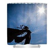 Daphne And Sun Shower Curtain