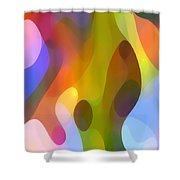 Dappled Art 8 Shower Curtain by Amy Vangsgard