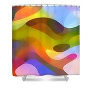 Dappled Light 5 Shower Curtain by Amy Vangsgard