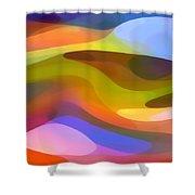 Dappled Light 9 Shower Curtain