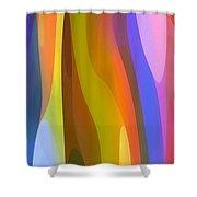 Dappled Light Panoramic Vertical 1 Shower Curtain