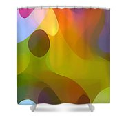 Dappled Light Panoramic Vertical 3 Shower Curtain