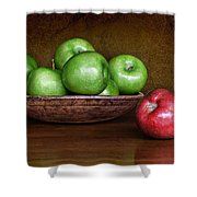 Dare To Be Different 3 Shower Curtain