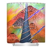 Dare To Grow Shower Curtain