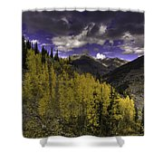 Dark Brightness Shower Curtain