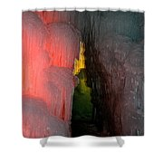 Dark Entrance Shower Curtain