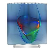 Dark Matter And Gravity Waves Revealed Shower Curtain