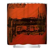 Dark Movement II Shower Curtain