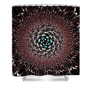 Dark Nexus Shower Curtain