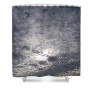 Dark Skyline Shower Curtain