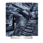 Dark Staircase Shower Curtain