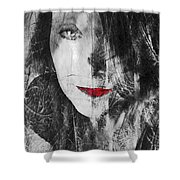 Dark Thoughts Shower Curtain