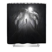 Dark To Light Shower Curtain