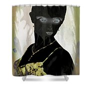 Dark Vision - Featured On Comfortable Art And A Place For All Groups Shower Curtain