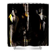 Darkness Comes To Us All Shower Curtain