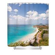 Darkwood Beach Shower Curtain
