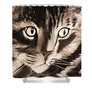 Darling Cat Shower Curtain