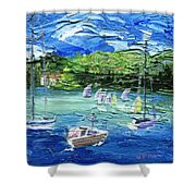 Darling Harbor II Shower Curtain