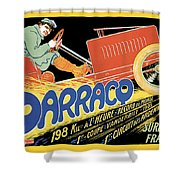 Darracq Suresnes France Shower Curtain