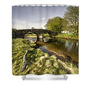 Dartmoor Bridge  Shower Curtain