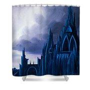 Dartonian Castle Shower Curtain