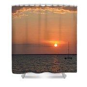 Fannie Bay Sunset 1.4 Shower Curtain