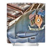 Darwin's Pride-b52 Bomber Shower Curtain