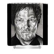 Daryl Dixon - The Walking Dead Shower Curtain