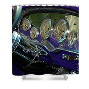 Dashboard Glam Shower Curtain