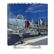 Dassault Etendard  Shower Curtain
