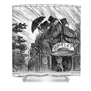 Bus, 1856 Shower Curtain