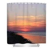 Dauphin Island Sunset Shower Curtain