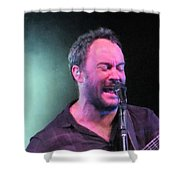 Dave In The Zone Shower Curtain