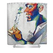Dave Matthews Shower Curtain