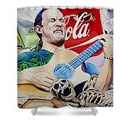 Dave Matthews Seek Up Shower Curtain
