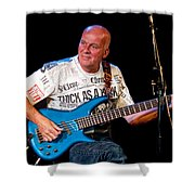 Dave Pegg Bass Player For Fairport Convention And Jethro Tull Shower Curtain